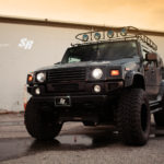 Hummer H2 STARR HID USA projector headlights